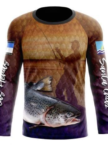 Remeras para Pesca INF™ Secado Rápido  FILTRO UV PERSONALIZADO